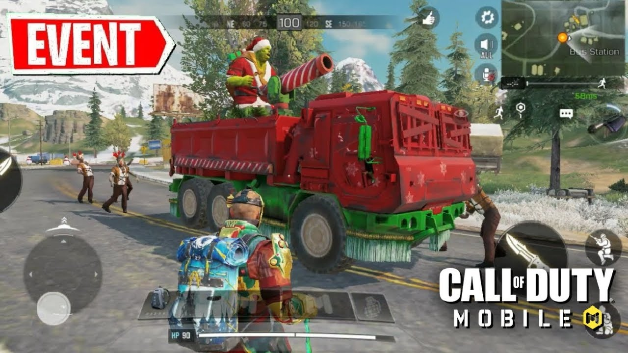 *NEW* ZOMBIE SANTA BOSS in Call of Duty Mobile!! New Battle Royale Event Gameplay