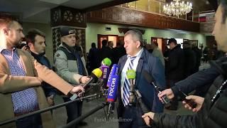 Полное Интервью Абдулманапа Нурмагомедова перед прилётом в Дагестан  Хабиба Нурмагомедова