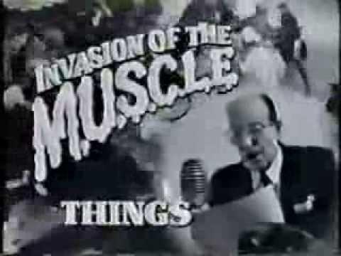 M U S C L E Toys Original TV Commercial 80s Toys M U S C L E