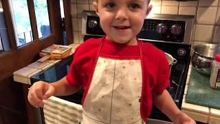 Kids in the Kitchen: Ep 3: The best Chicken Pot Pie EVER!