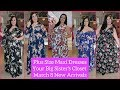 Plus Size Maxi Dresses - YBSC March 8 New Arrivals