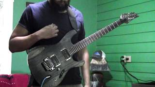 "Between The Buried and Me ""Specular Reflection"" GUITAR COVER"