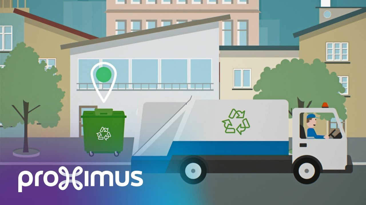 How can IoT help with waste management