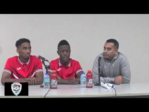 Jabari Mitchell and Jarred Dass on the 1-0 win over Guadeloupe