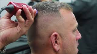 High and Tight Skin Fade
