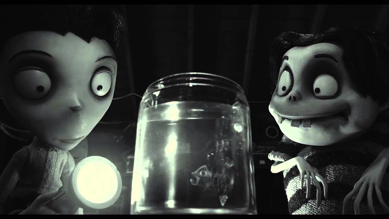 Frankenweenie Escena Un Pez Especial Disney Oficila