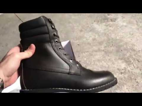 0a713d555bac Unboxing of the Stylmartin Indian motorcycle boots - YouTube