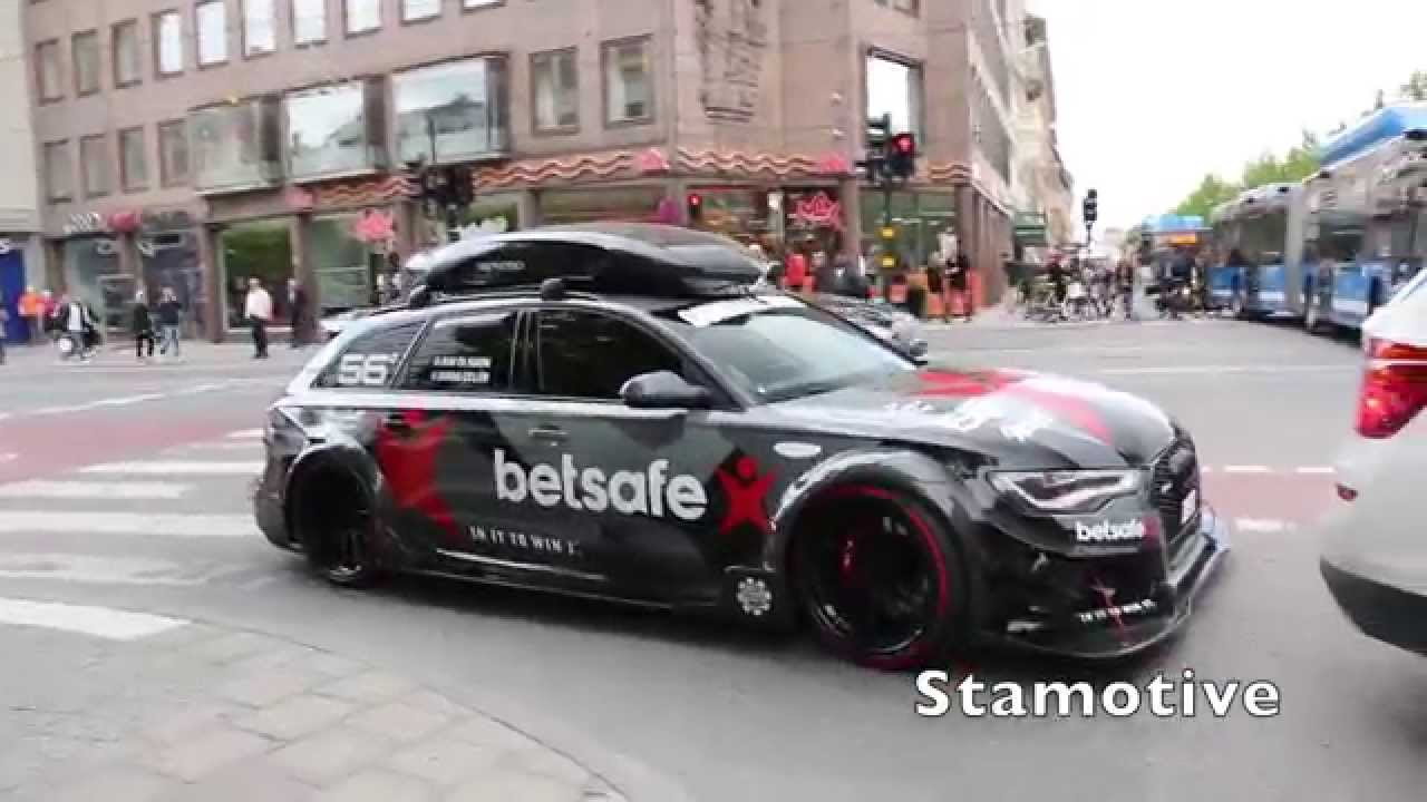 1000 Hp Audi Rs6 Dtm Jon Olsson Stolend And Burned Youtube