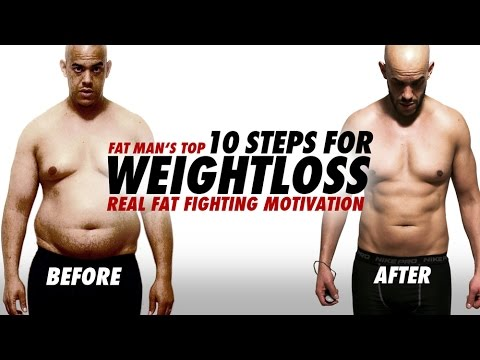 FAT MAN'S TOP 10 STEPS FOR WEIGHTLOSS | FATFIGHTING MOTIVATION