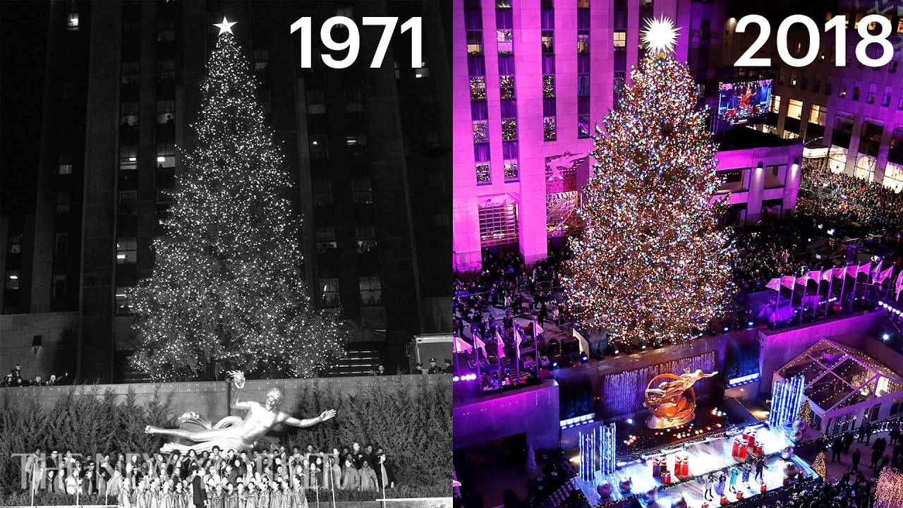 Ninety Years of Christmas in New York City, Then and Now | The New