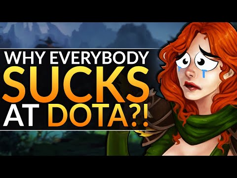 WHY EVERYONE SUCKS AT DOTA 2: STUPID MISTAKES YOU MAKE - EASY TIPS - Dota 2 Pro Guide