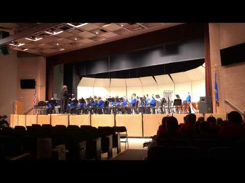 Encanto by Robert W. Smith - Traeger Middle School 8th Grade Band
