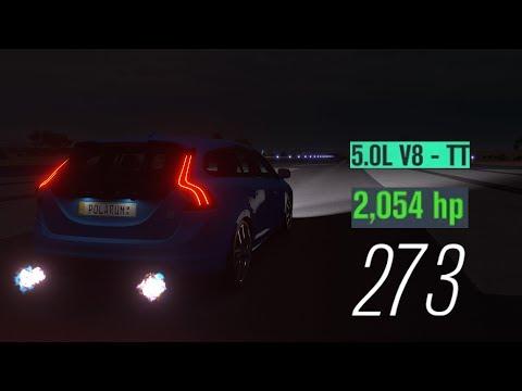 Forza Horizon 3 Mods | Volvo V60 With Koenigsegg Agera Swap