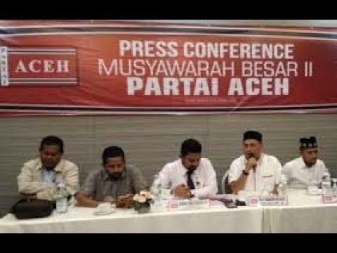 Mubes Partai Aceh ke 2 di Hotel Kyriad Muraya Aceh
