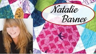 Facebook Live with Natalie Barnes, creative mind behind Beyond the Reef fabrics and patterns
