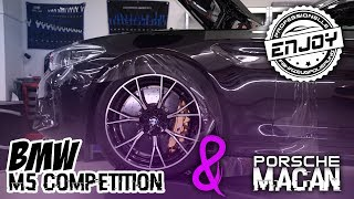 Enjoy Fahrzeugfolierung | Der M5 Competition wird eingehüllt!