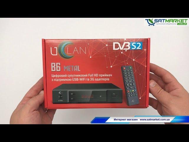 Видео обзор U2C B6 Metal без RF модулятора