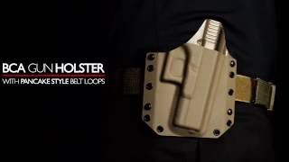 The Best Way To Conceal Your Bravo Concealment Holster Is By Using Our Pancake Style Belt Loops.
