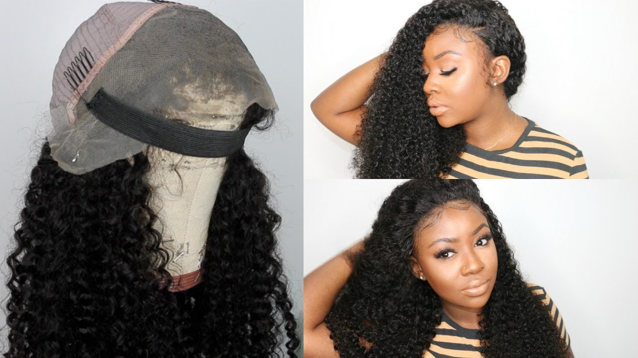 Highly Requested Elastic Band Method Glueless Lace Wig Application Lu Hair Wig Youtube