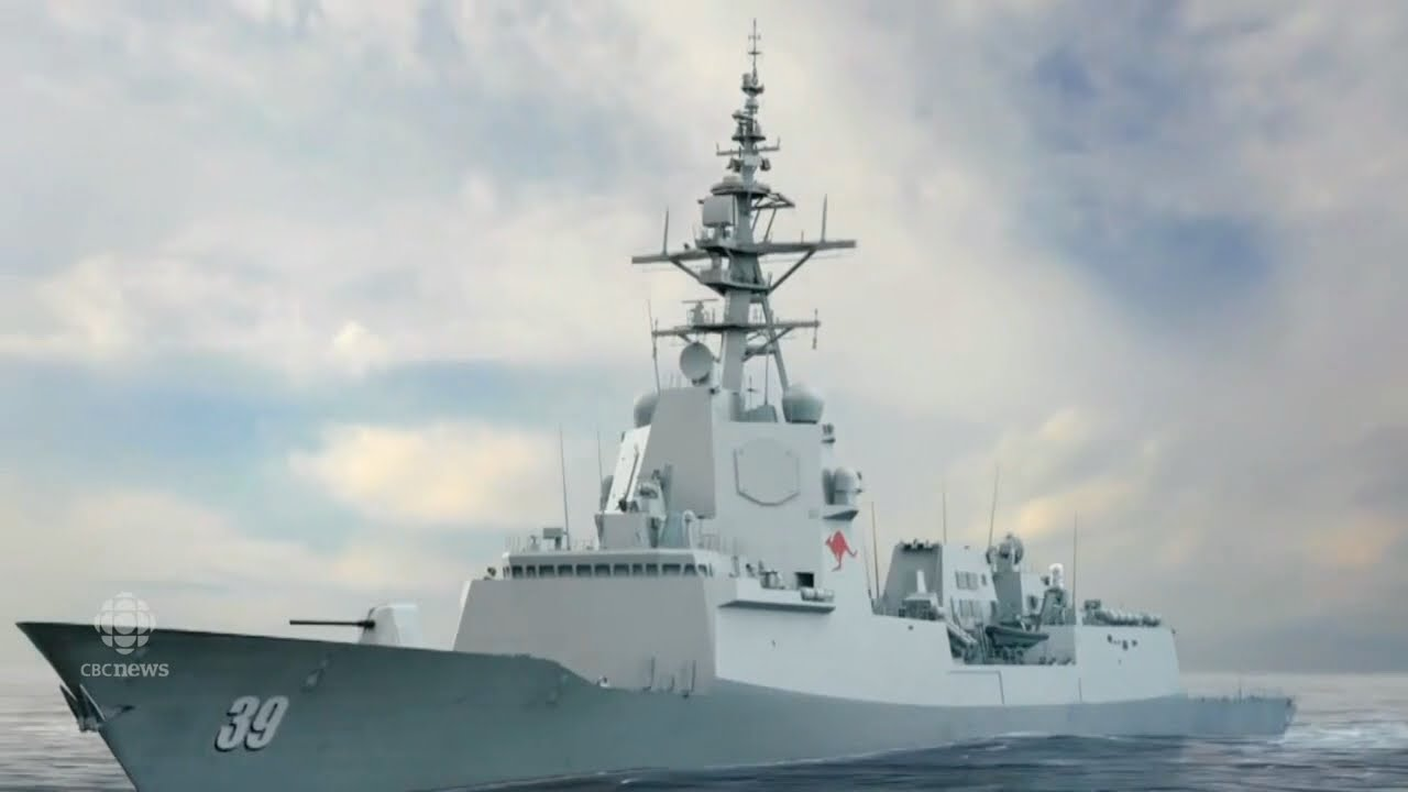 Cost of Royal Canadian Navy Warships Doubles