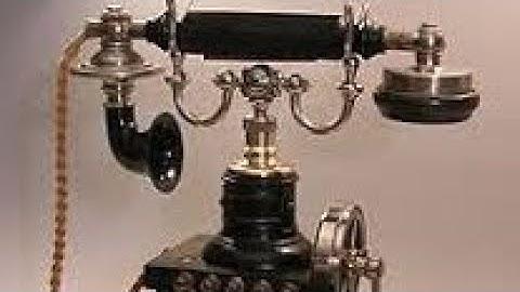 """Bares für Rares Das """"Skelett-Telefon"""": um 1896, Firma Ericsson"""
