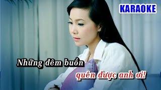 Karaoke Nếu Anh Đừng Hẹn (Beat Chuẩn) - Karaoke Tone Nữ || Ngọc Kiều Oanh