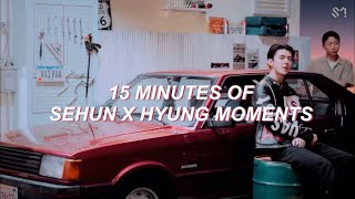 15 MINUTES OF SEHUN X HYUNGS MOMENTS