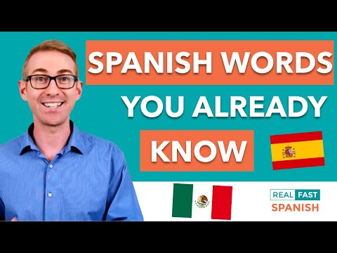 Spanish Cognates - 1001 Spanish Words You Already Know