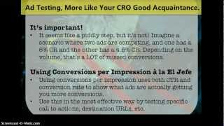 Conversion Rate Optimization For PPC: Mo