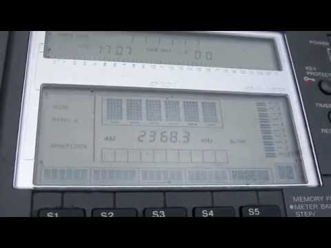 Le Manamea Samoa Radio on 2368 kHz