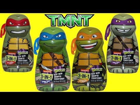Teenage Mutant Ninja Turtles TMNT 3-in-1 Bath Soap | Toys Unlimited