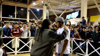 PAPICHA(LIMA) VS ZEUS EMCEE(CHICLAYO)  || FACE2FACE || OCTAVOS DE  FINAL || FESTIVAL TRUJILLO 2015