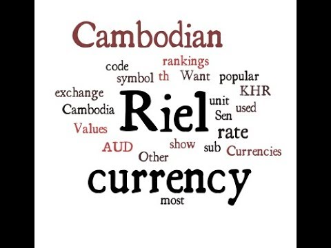 Cambodian Currency Riel Youtube