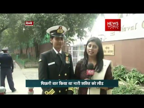 Beating Retreat: Indian Navy Lieutenant Commander Priya Jaya
