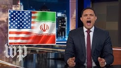 'Mom, Iran hit me!: Late-night hosts tackle Trump's reaction to Iran threats