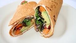 How to: Sun Dried Tomato Basil Turkey Wrap! -LOW CARB-