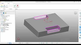 PowerMill 2018 - Usinando Cavidade Aberta com Figura