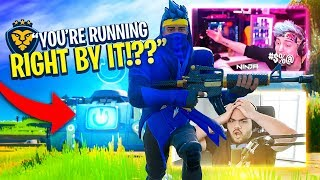 NINJA WONT PLAY WITH US ANYMORE BECAUSE WE DIDN'T RES HIM! (Fortnite: Battle Royale)
