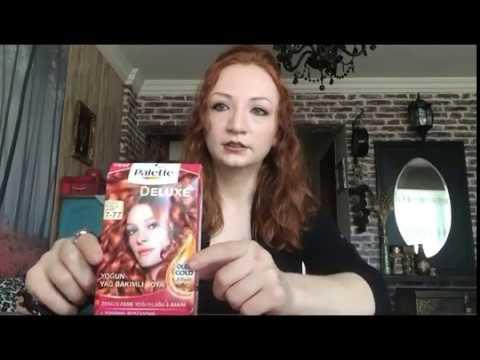 Saç Rengim Palette Deluxe Yoğun Bakır 7 77 Saç Boyası Youtube