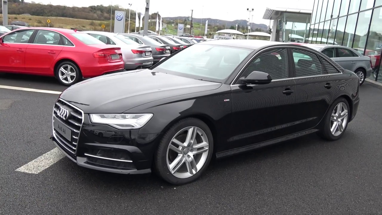 cmg audi sligo new 2018 audi a6 2 0tdi s line 190bhp s. Black Bedroom Furniture Sets. Home Design Ideas