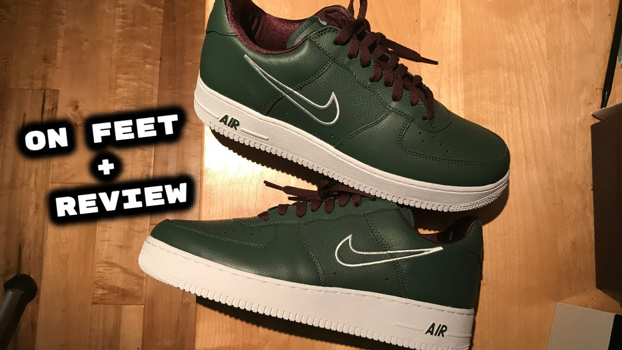 great deals 2017 thoughts on new products NIKE AIR FORCE 1 HONG KONG RETRO 2018 | ON FEET + UNBOXING