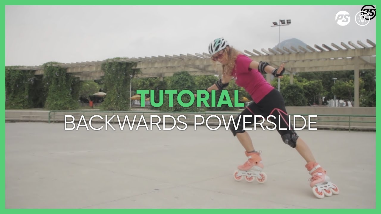 how to learn backwards powerslides on skates inline skating