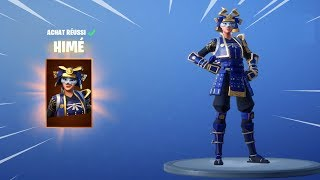 NEW SKIN SAMOURAI LEGENDAIRE on FORTNITE BATTLE ROYALE!