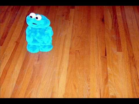 Bluetooth Robot Voice Recognition Controlled Cookie Monster