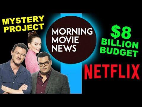 Josh Gad, Daisy Ridley & Luke Evans Superhero Movie, Netflix $8 Billion on Content in 2018