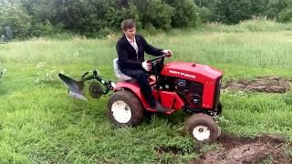 видео Садовые тракторы