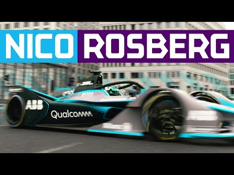 Nico Rosberg Drives New Gen2 Formula E Car On Berlin Streets