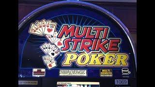 Multi Strike Poker Slot Machine - Live Play