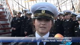 Plecare NS Mircea la Black Sea Tall Ship Regatta 2014