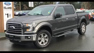 2015 Ford F-150 XLT W/ Backup Camera, Heated Seats, Nav Review| Island Ford